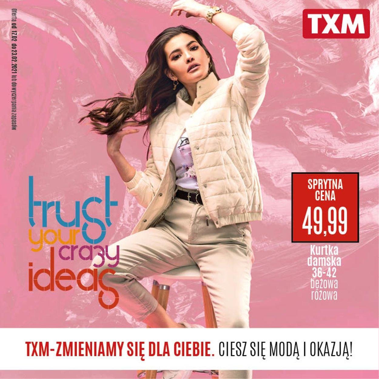 Gazetka promocyjna TXM - 17.02-23.02.2021