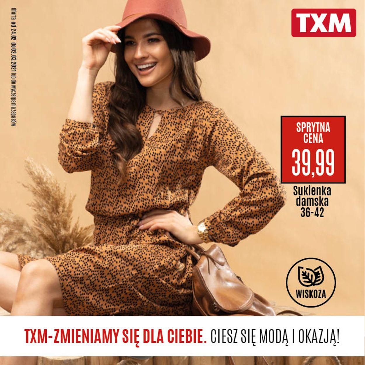 Gazetka promocyjna TXM - 24.02-02.03.2021
