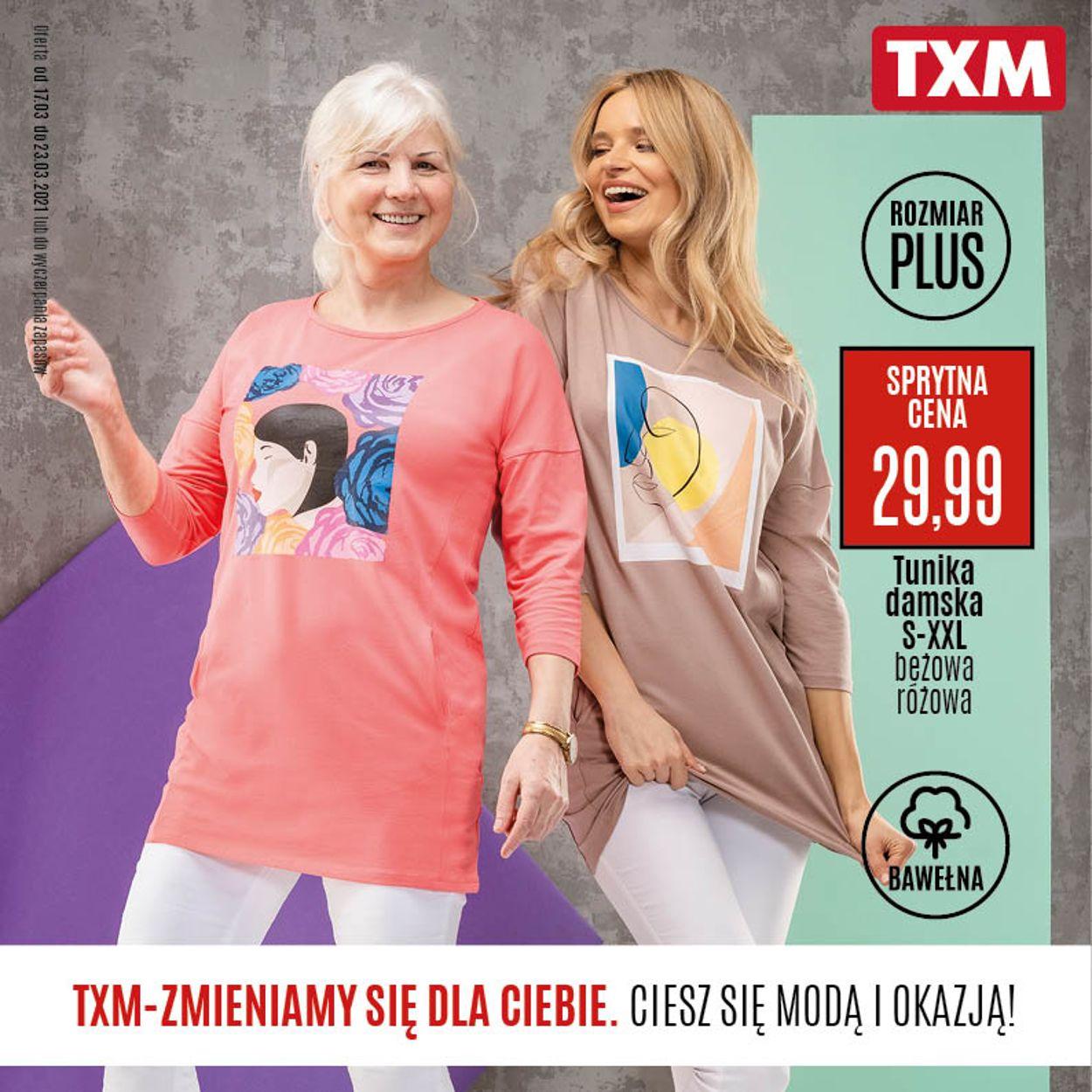 Gazetka promocyjna TXM - 17.03-23.03.2021