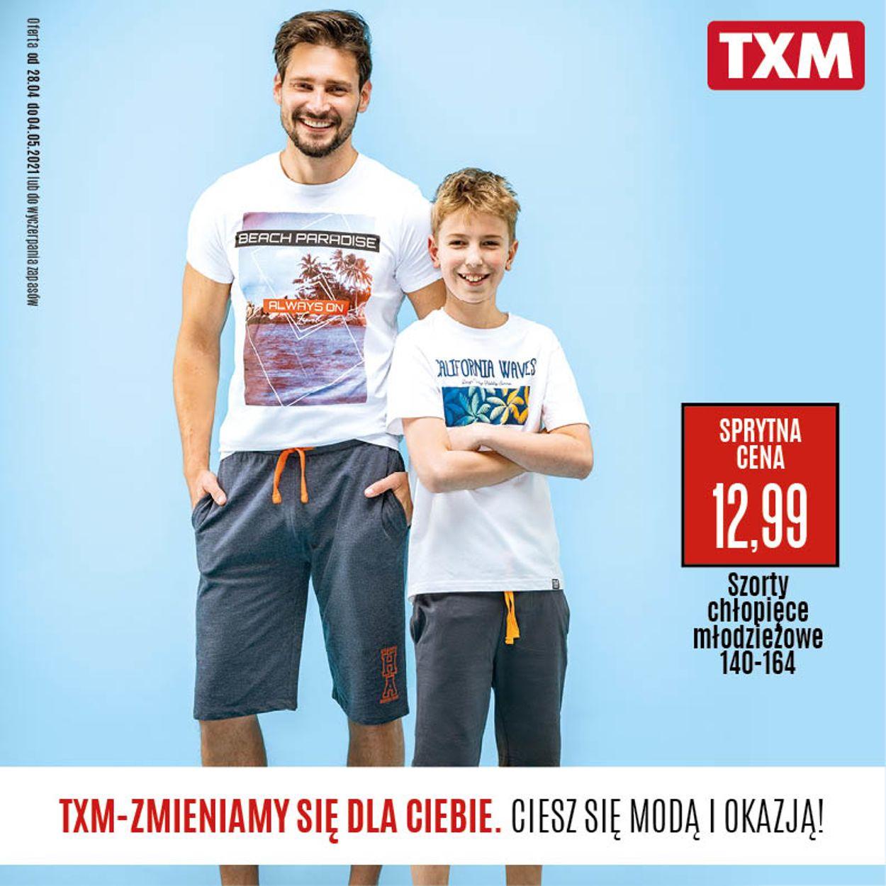 Gazetka promocyjna TXM - 28.04-04.05.2021