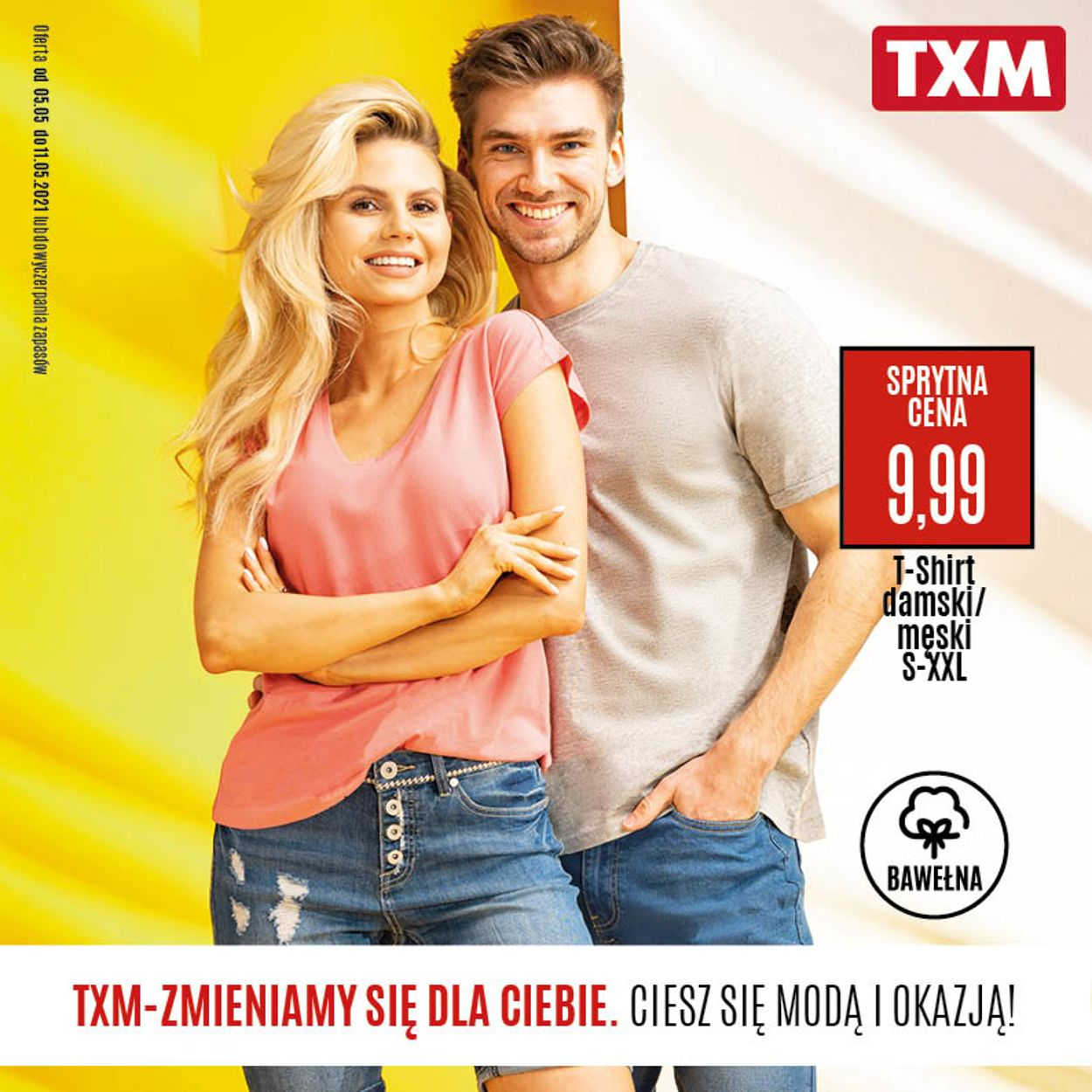 Gazetka promocyjna TXM - 05.05-11.05.2021