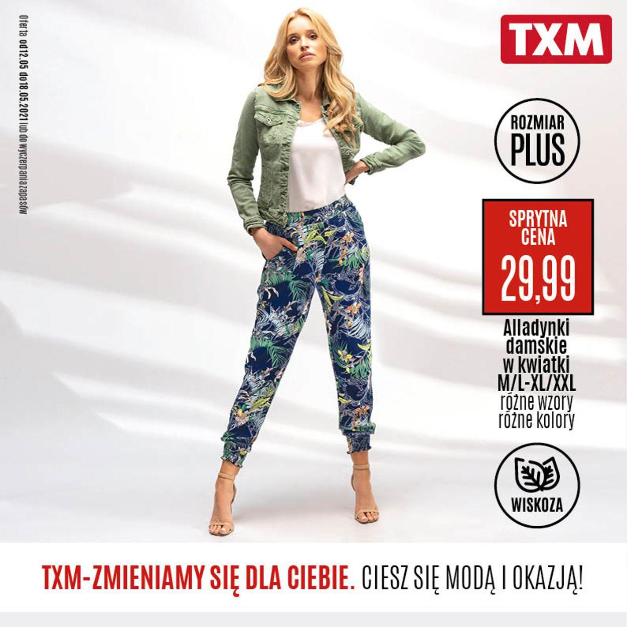 Gazetka promocyjna TXM - 12.05-18.05.2021