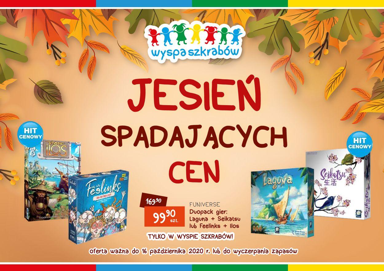 Gazetka promocyjna Wyspa Szkrabów - 11.09-16.10.2020