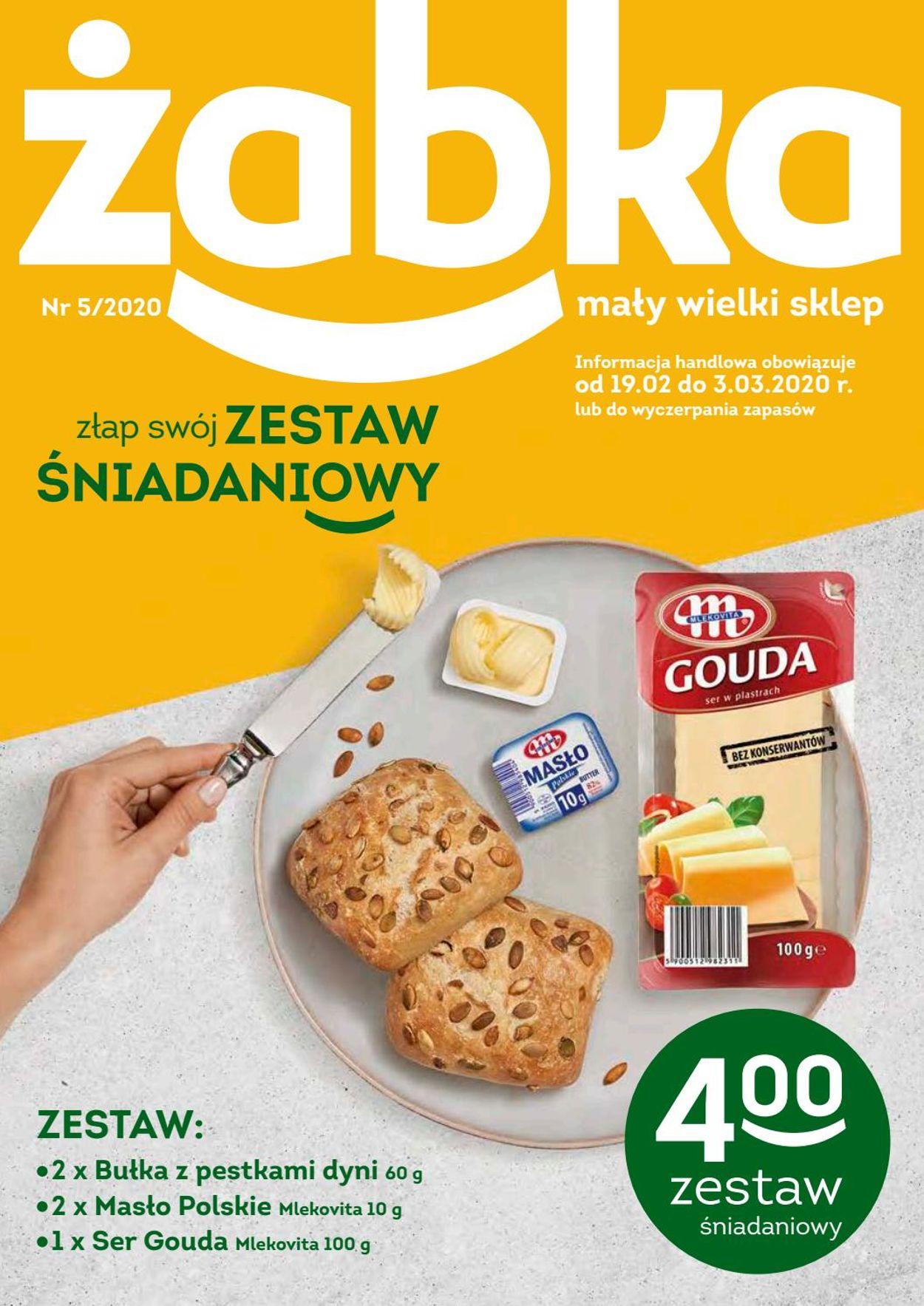 Gazetka promocyjna Żabka - 19.02-03.03.2020