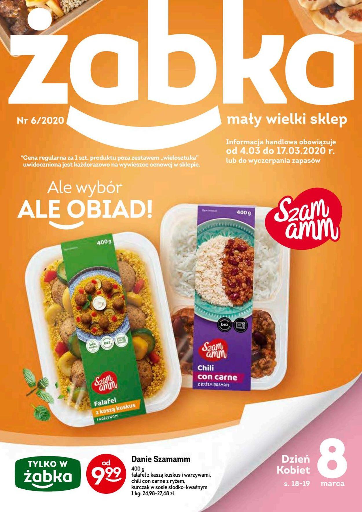 Gazetka promocyjna Żabka - 04.03-17.03.2020