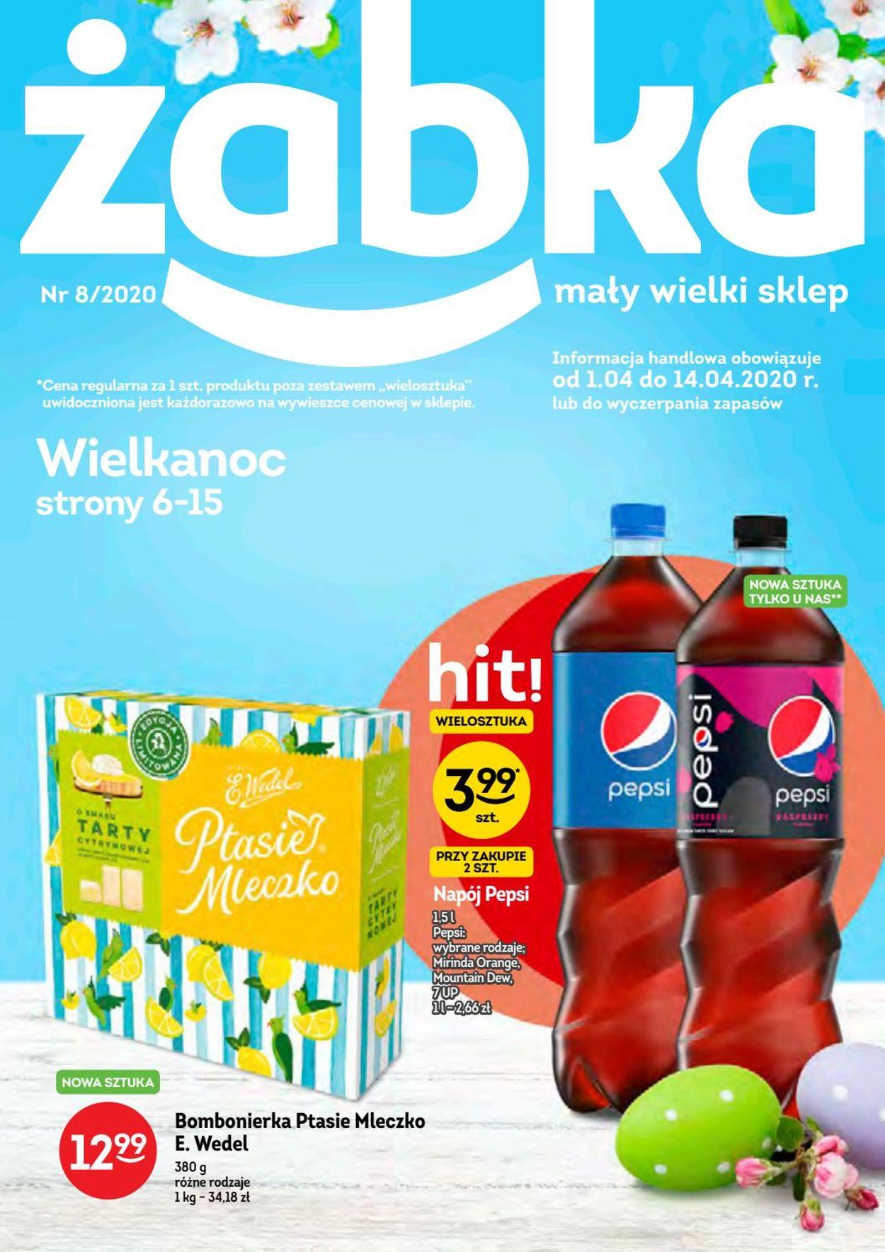 Gazetka promocyjna Żabka - 01.04-14.04.2020
