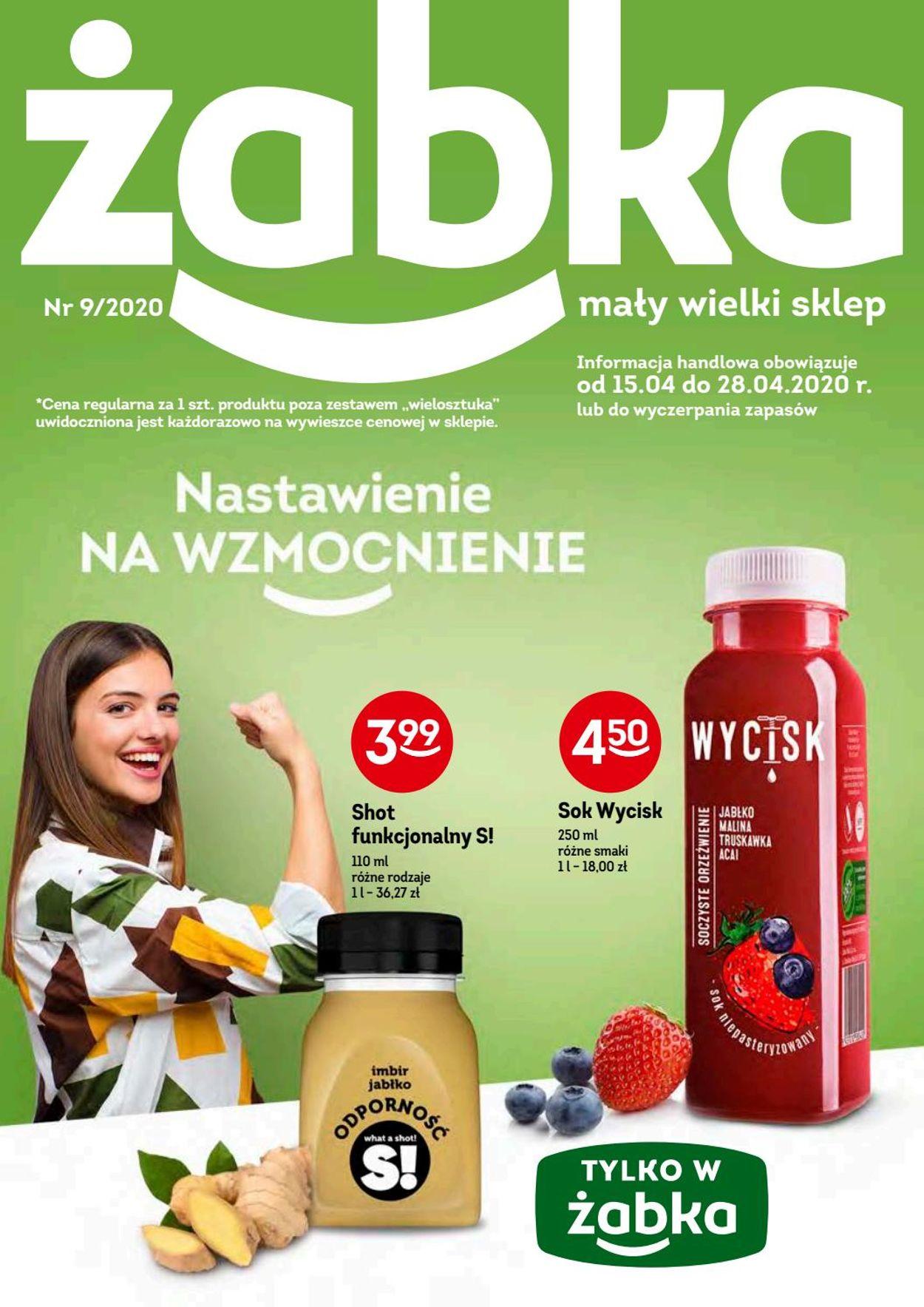 Gazetka promocyjna Żabka - 15.04-28.04.2020