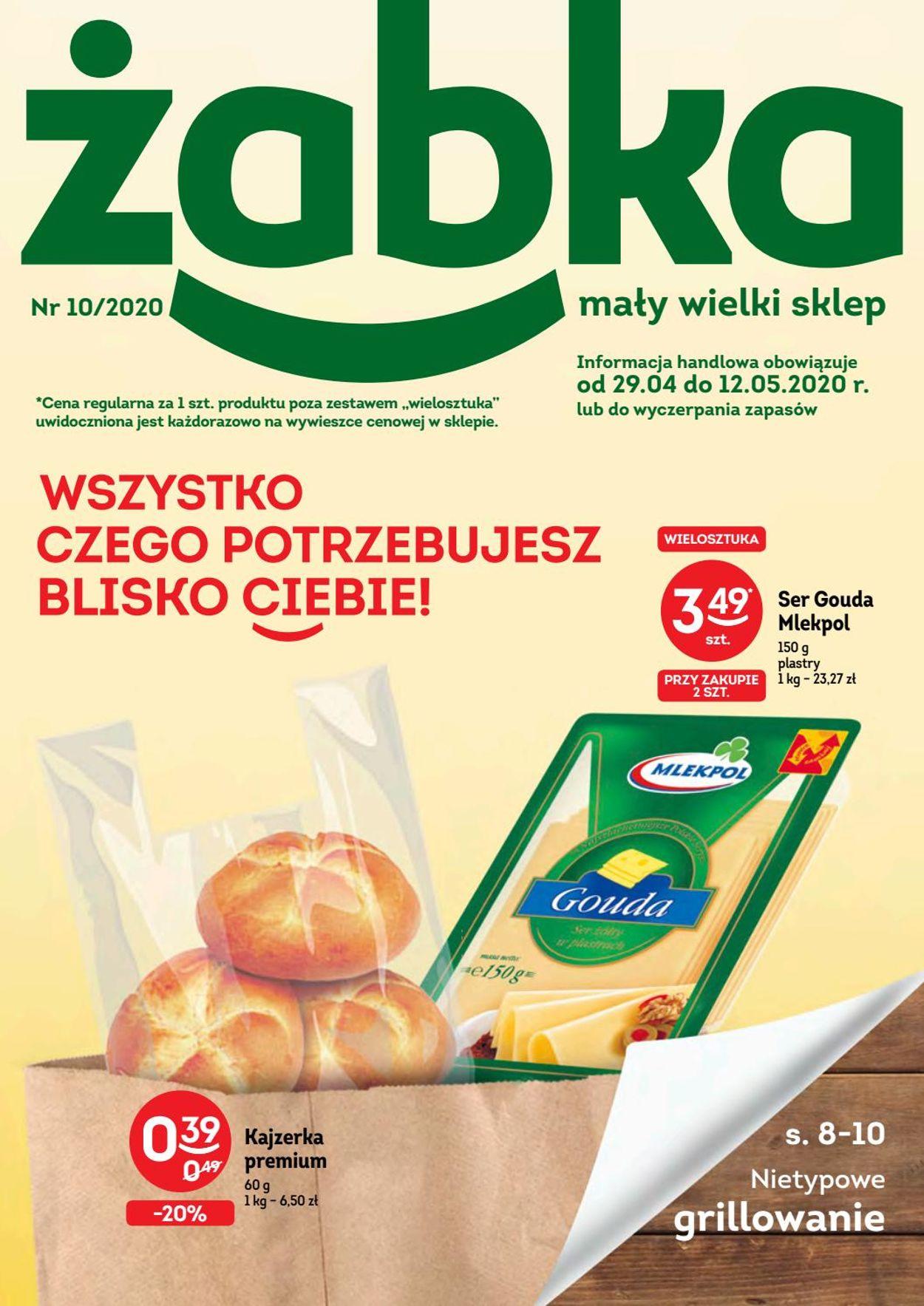 Gazetka promocyjna Żabka - 29.04-12.05.2020