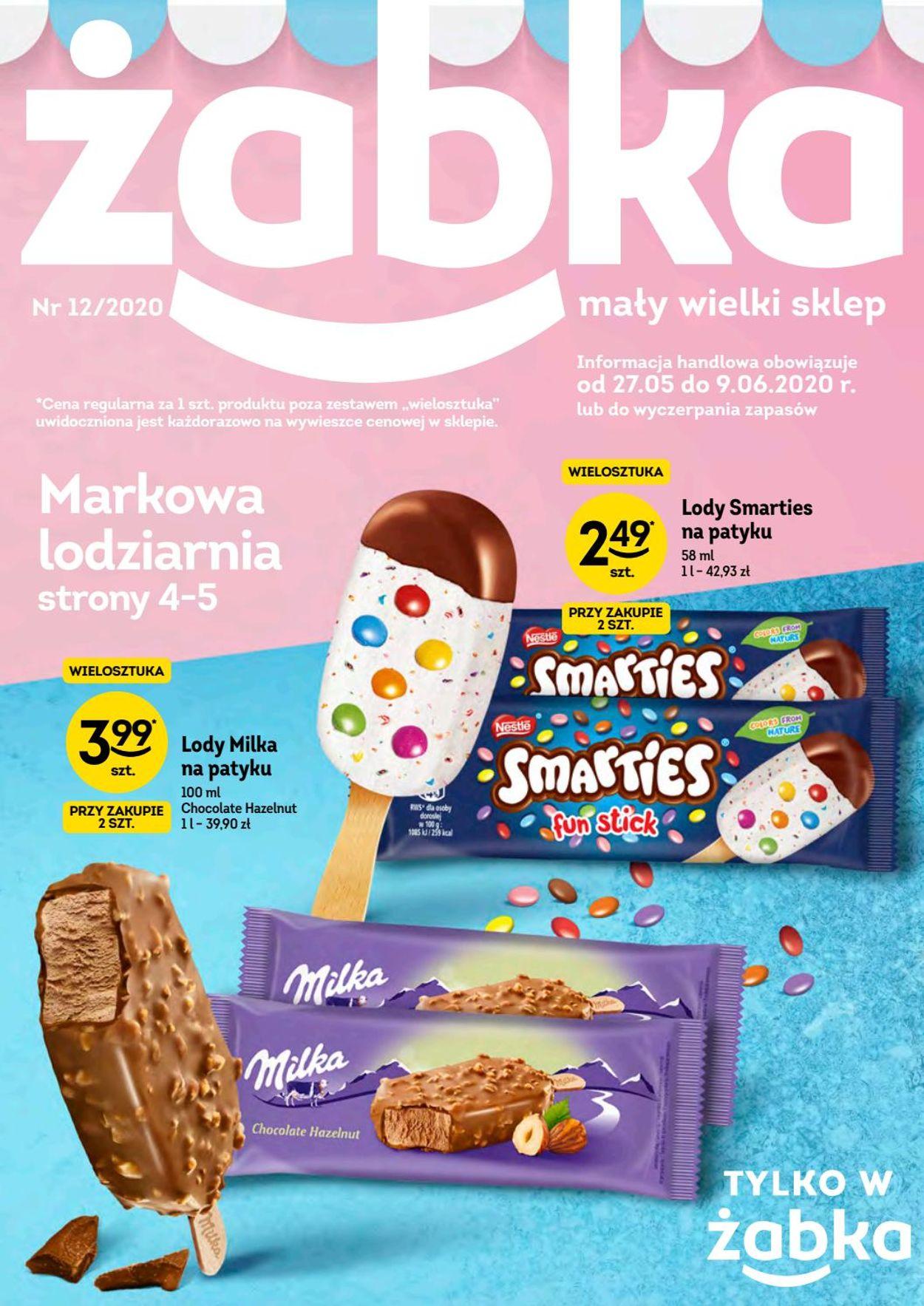 Gazetka promocyjna Żabka - 27.05-09.06.2020