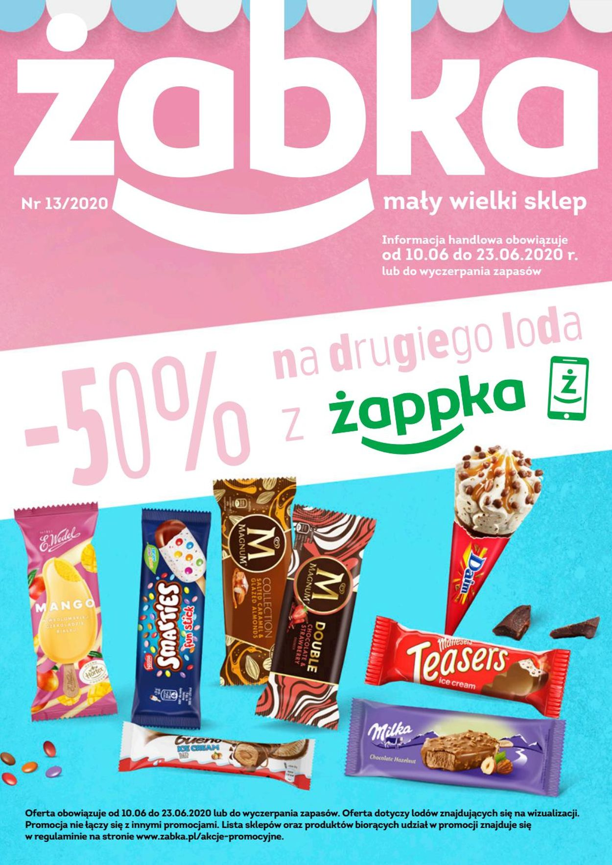Gazetka promocyjna Żabka - 10.06-23.06.2020