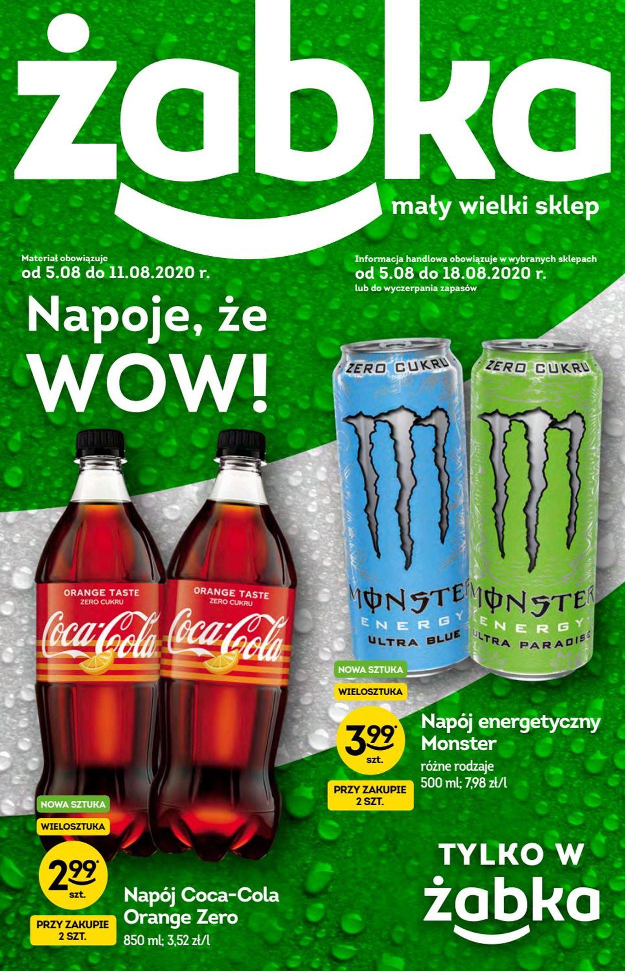 Gazetka promocyjna Żabka - 05.08-18.08.2020