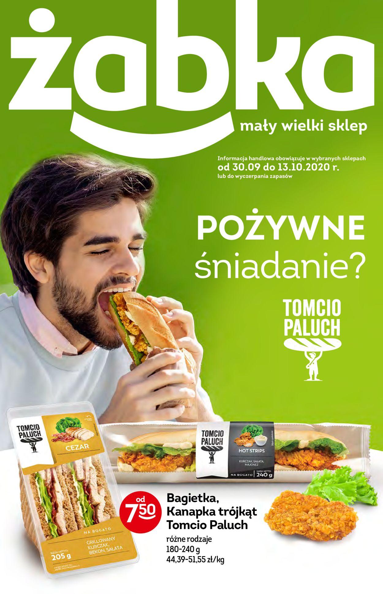 Gazetka promocyjna Żabka - 30.09-13.10.2020