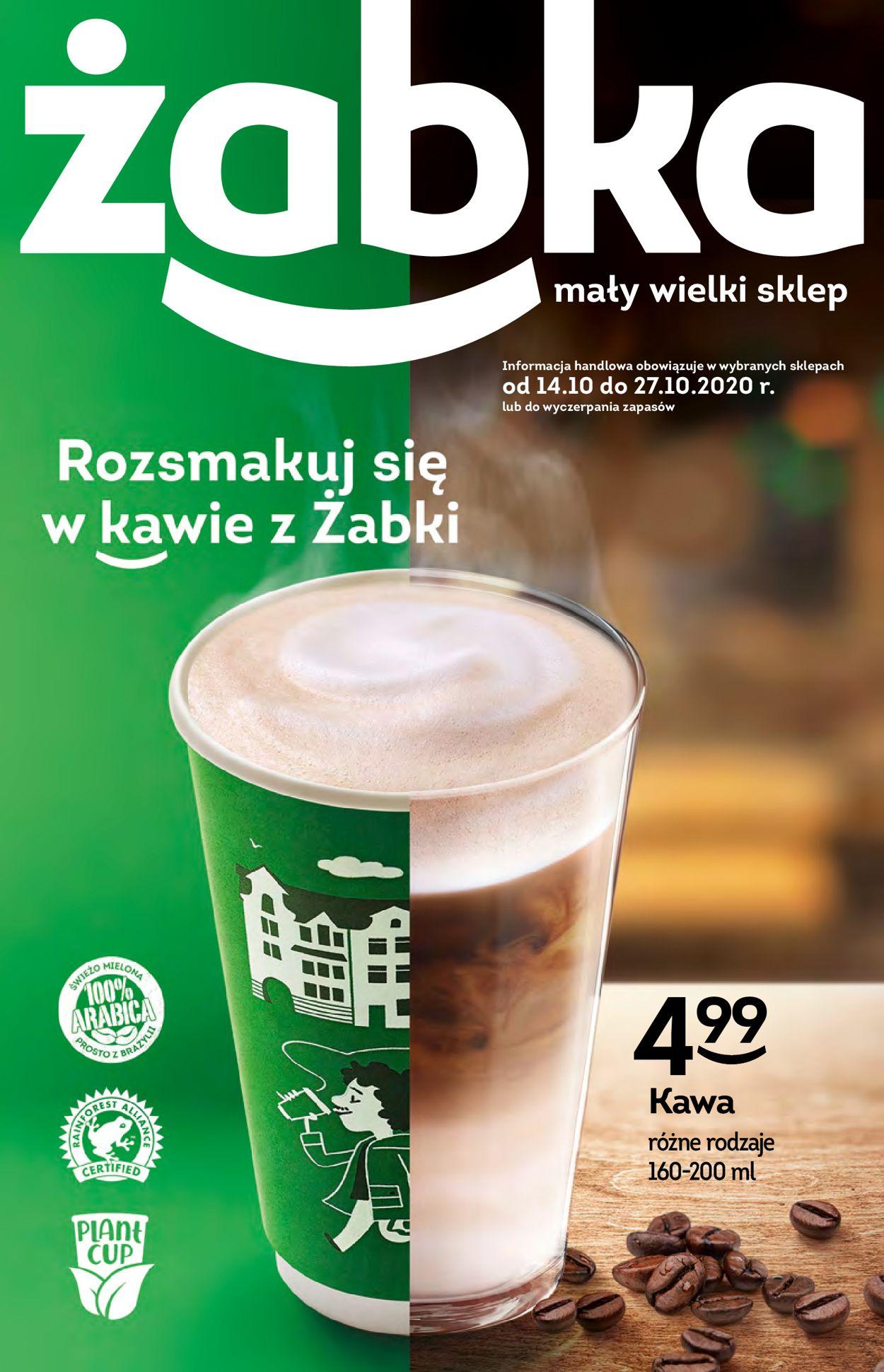 Gazetka promocyjna Żabka - 14.10-27.10.2020