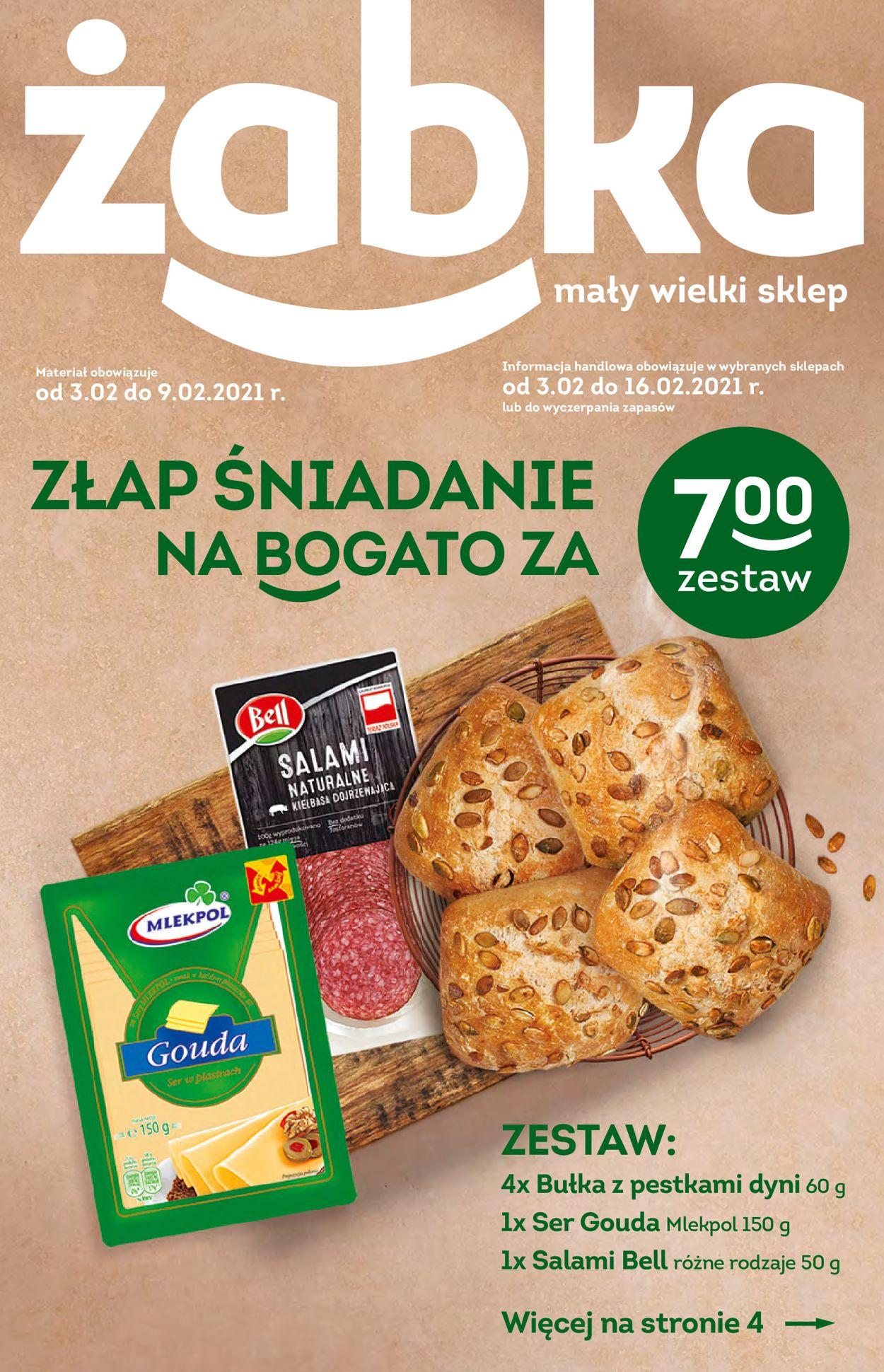 Gazetka promocyjna Żabka - 03.02-16.02.2021