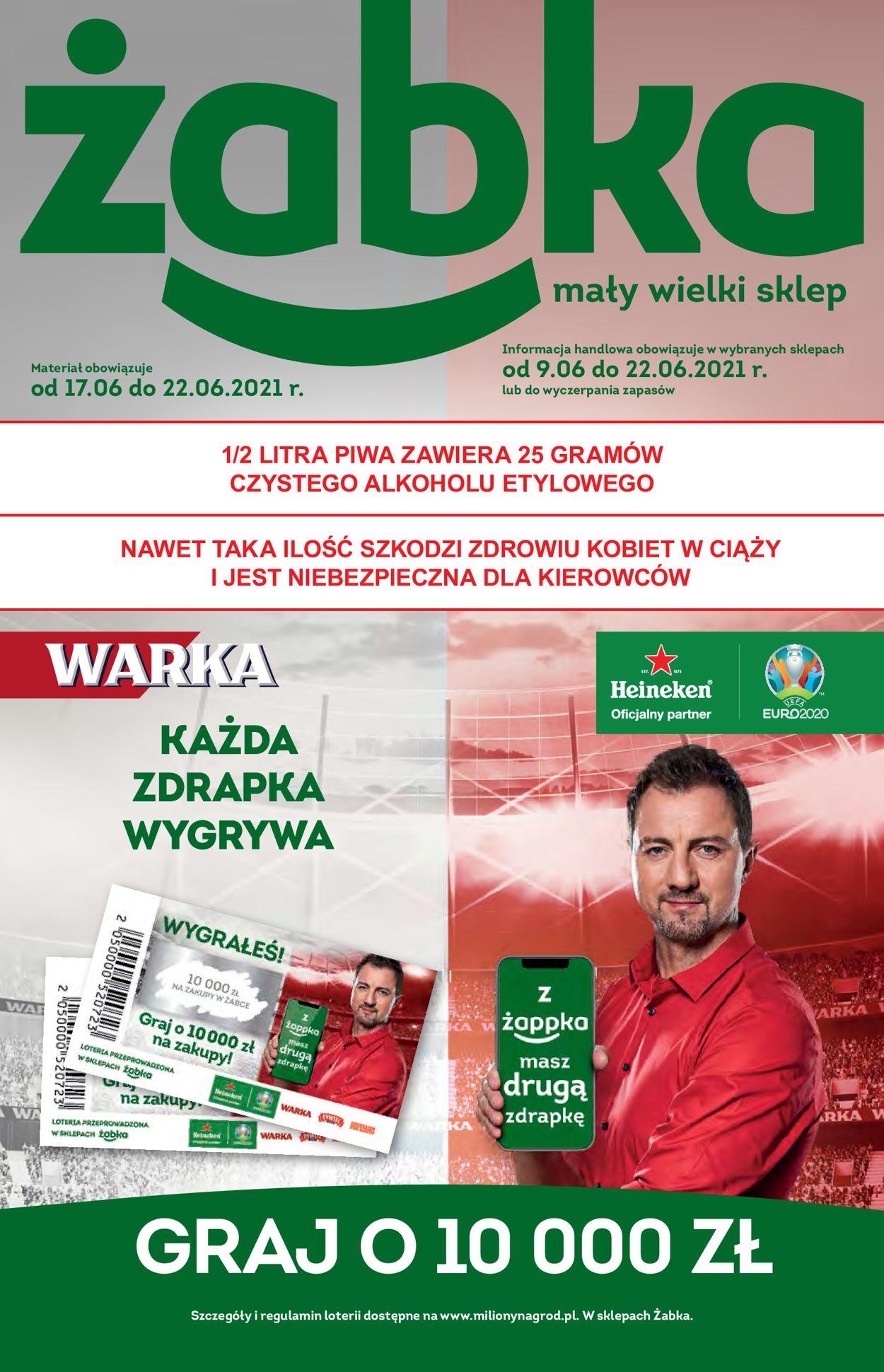 Gazetka promocyjna Żabka - 17.06-22.06.2021