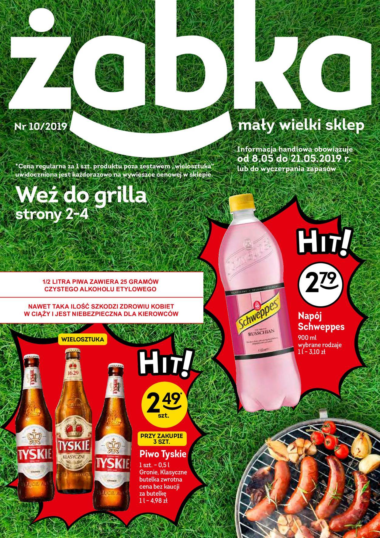 Gazetka promocyjna Żabka - 08.05-21.05.2019