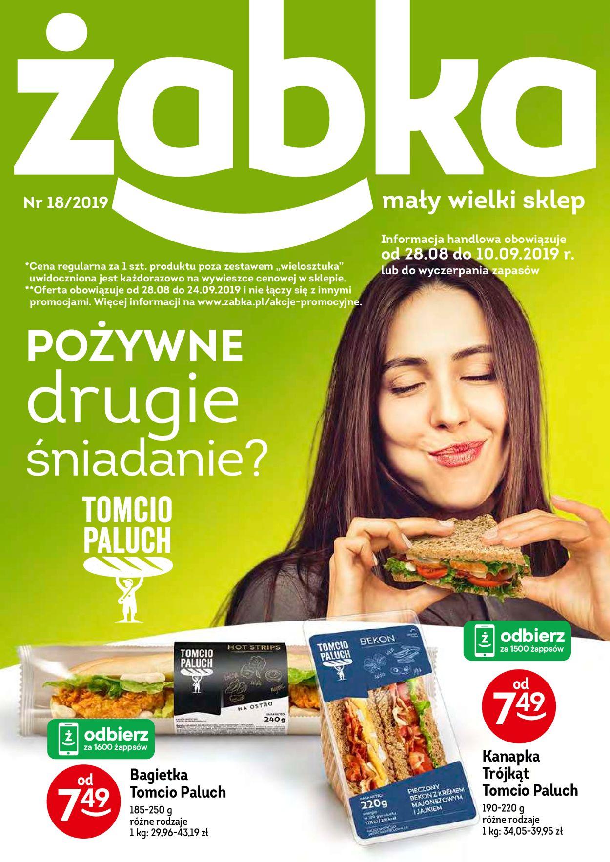 Gazetka promocyjna Żabka - 28.08-10.09.2019