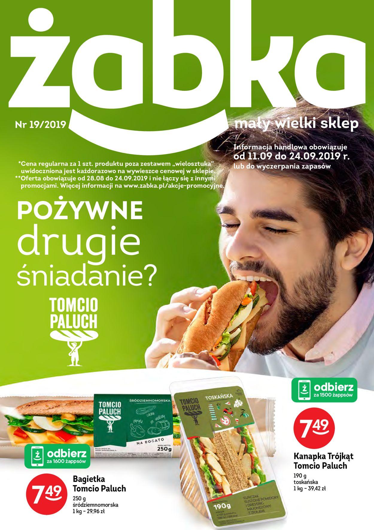 Gazetka promocyjna Żabka - 11.09-24.09.2019