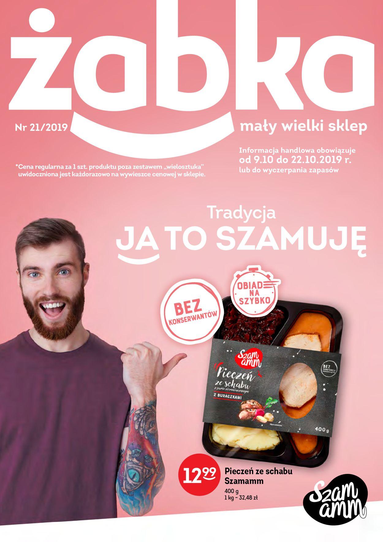 Gazetka promocyjna Żabka - 09.10-22.10.2019