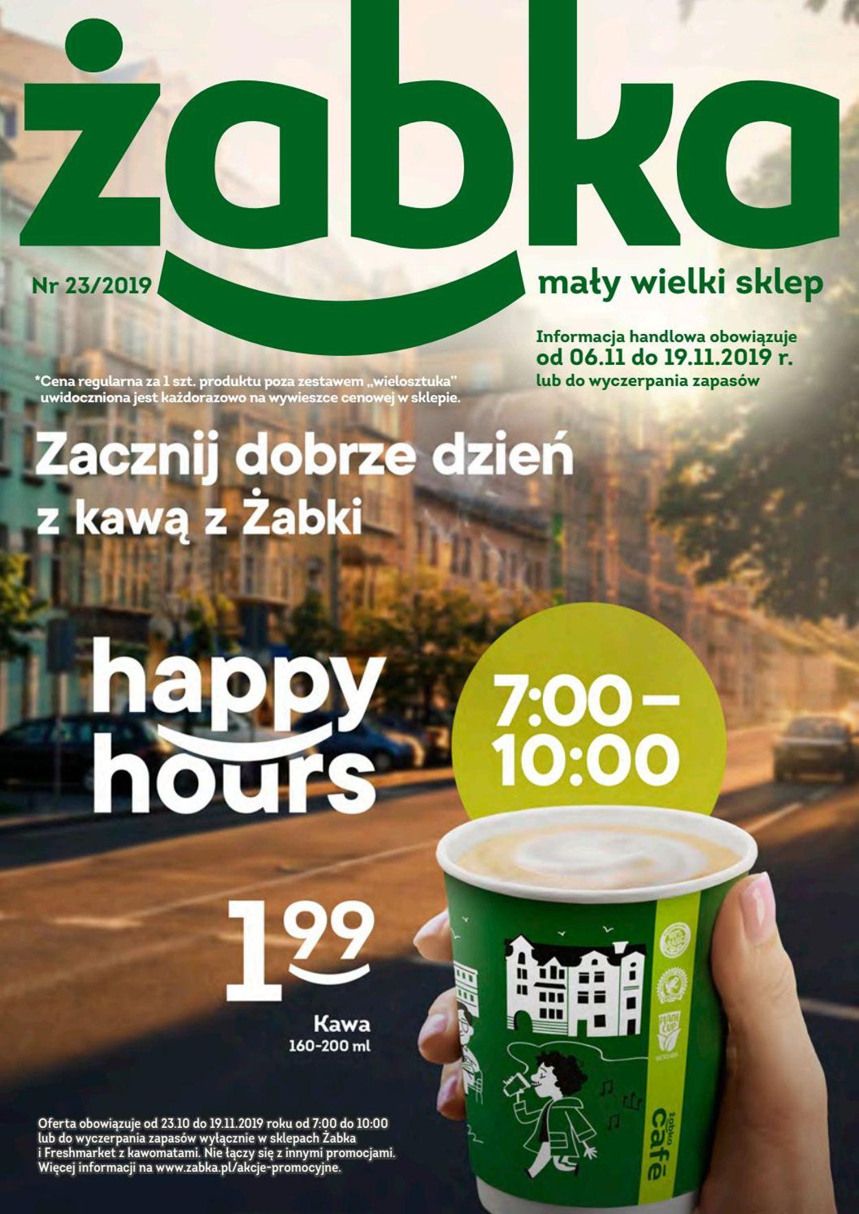 Gazetka promocyjna Żabka - 06.11-19.11.2019
