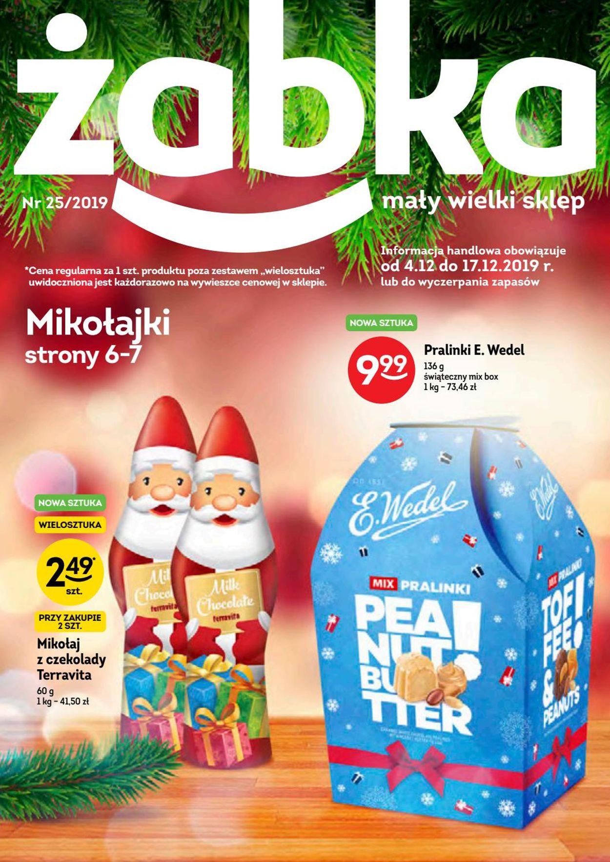 Gazetka promocyjna Żabka - 04.12-17.12.2019