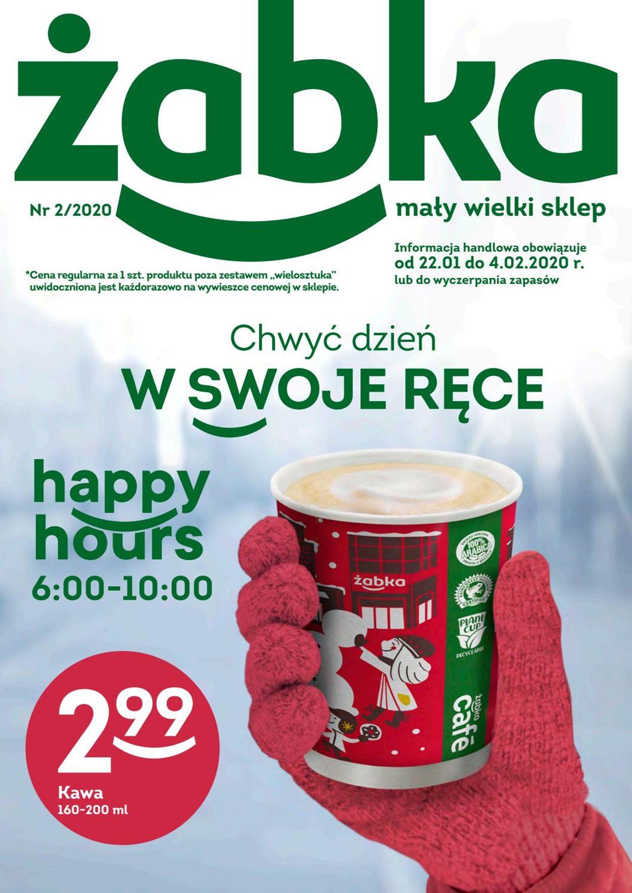 Gazetka promocyjna Żabka - 22.01-04.02.2020