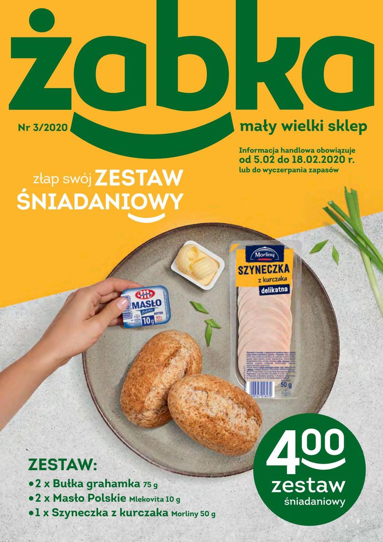Gazetka promocyjna Żabka - 05.02-18.02.2020