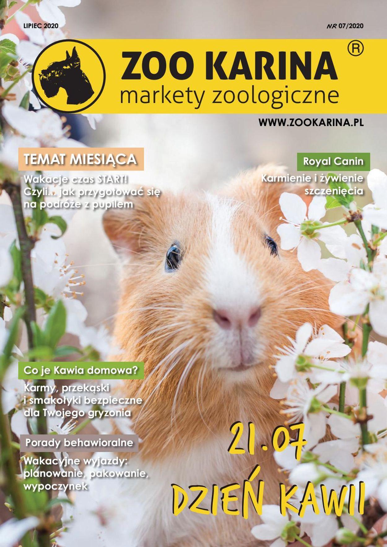 Gazetka promocyjna ZOO Karina - 01.07-31.07.2020