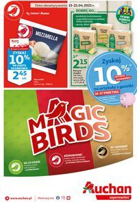 Auchan Magic Birds Supermarkety