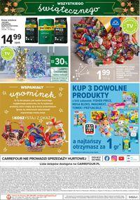 Carrefour Gazetka Świąteczna 2020