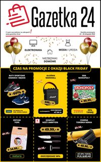 Gazetka 24 Black Friday 2020