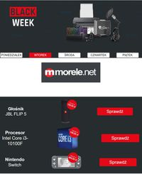 morele.net Black Friday 2020