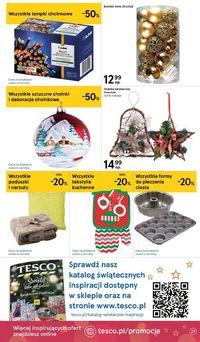 TESCO - Gazetka Świąteczna 2019