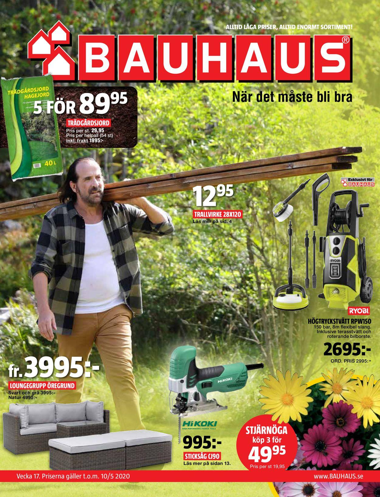 Bauhaus - Reklamblad - 23/04-10/05-2020