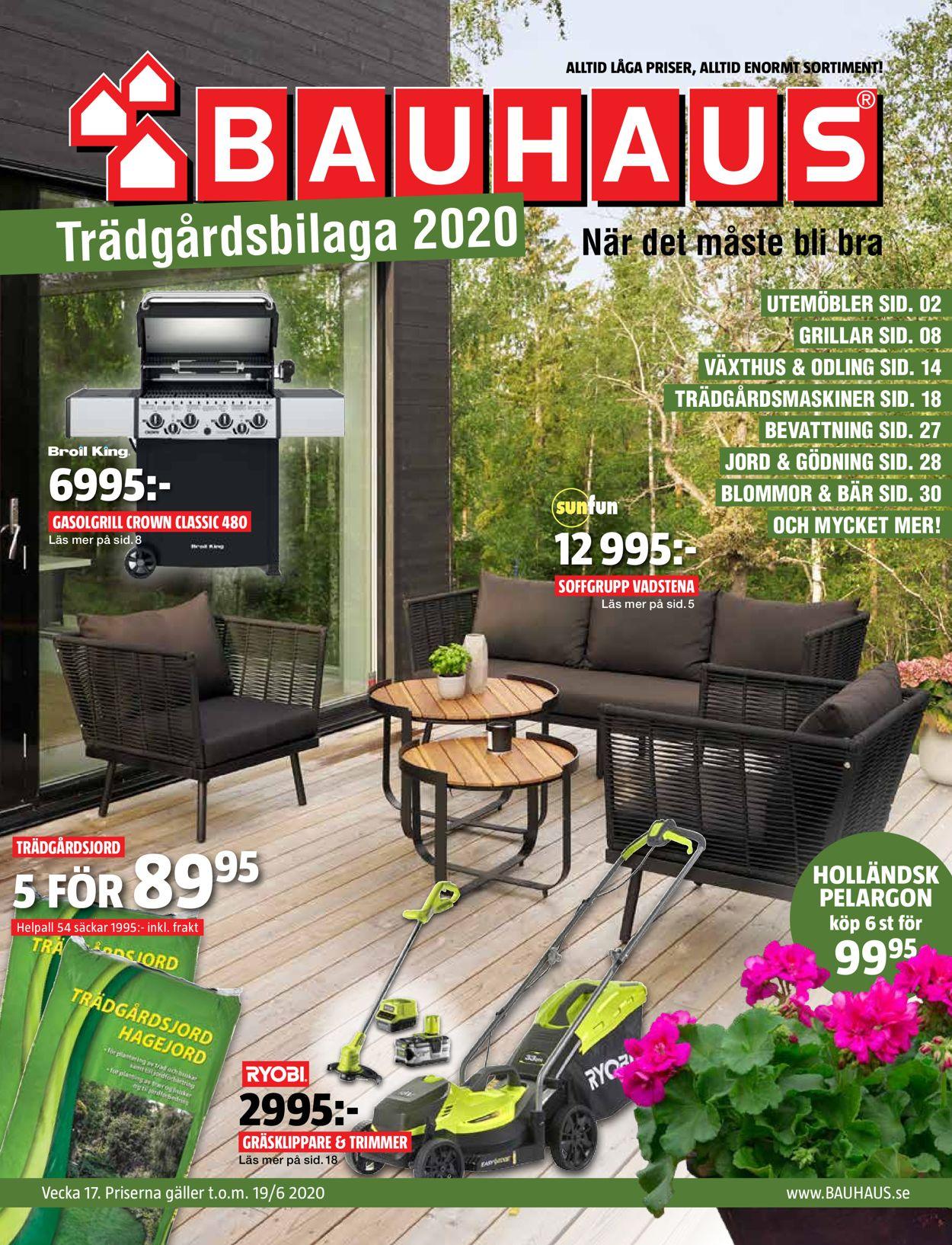 Bauhaus - Reklamblad - 11/05-19/06-2020