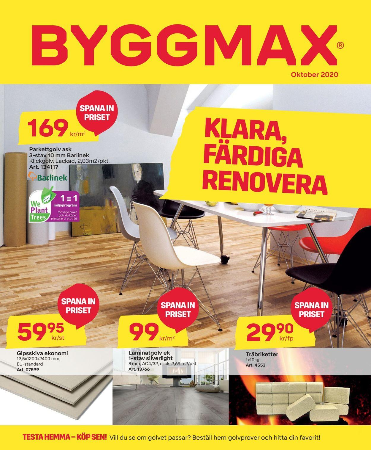 ByggMax - Reklamblad - 16/10-01/11-2020