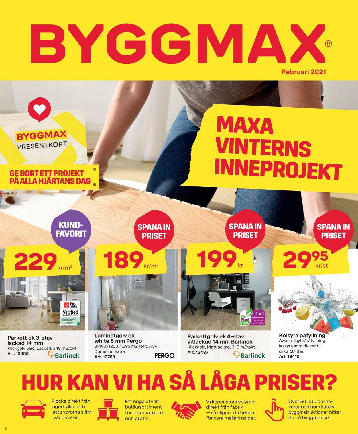 ByggMax - Reklamblad - 12/02-28/02-2021