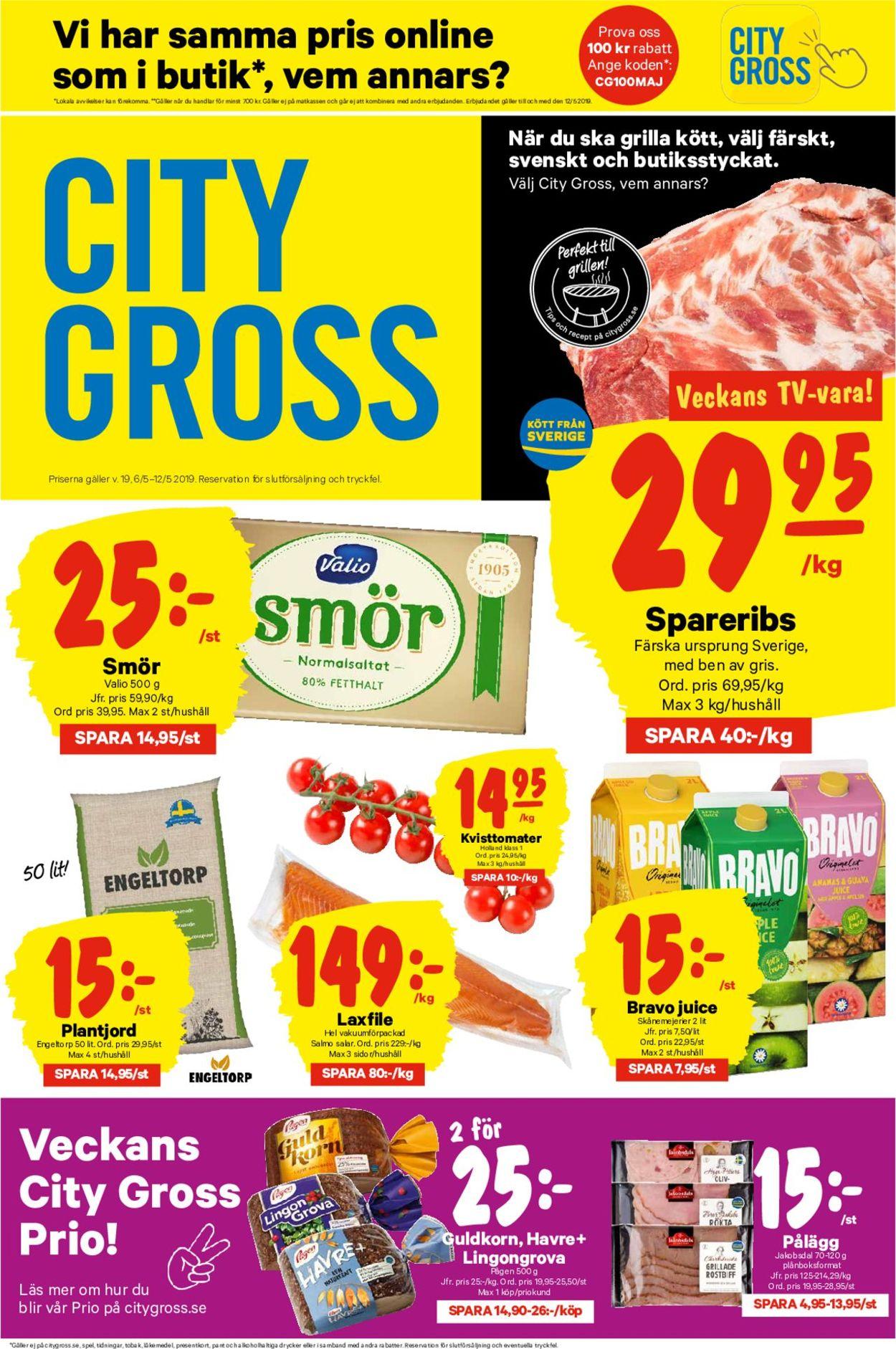 City Gross - Reklamblad - 06/05-12/05-2019