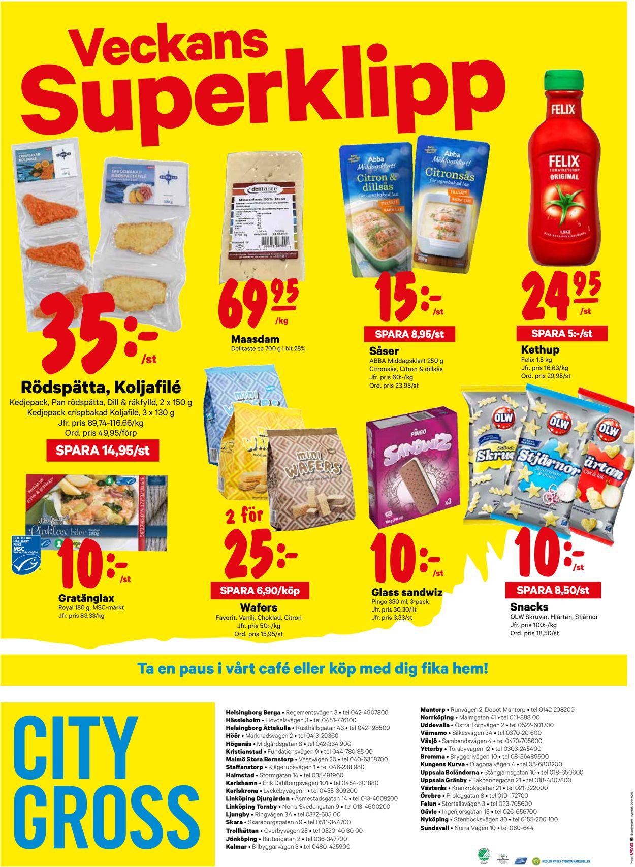 City Gross - Reklamblad - 29/06-05/07-2020 (Sida 20)