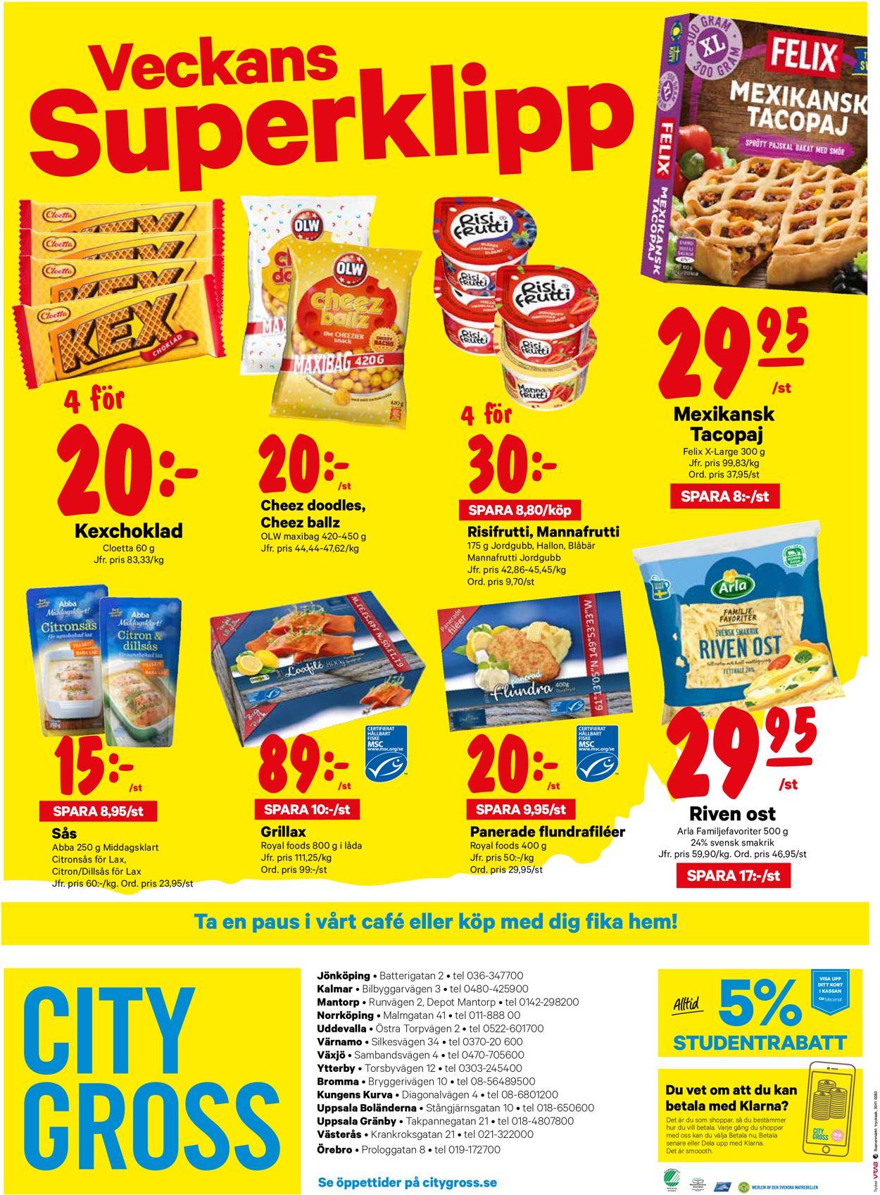 City Gross - Reklamblad - 07/09-13/09-2020 (Sida 16)