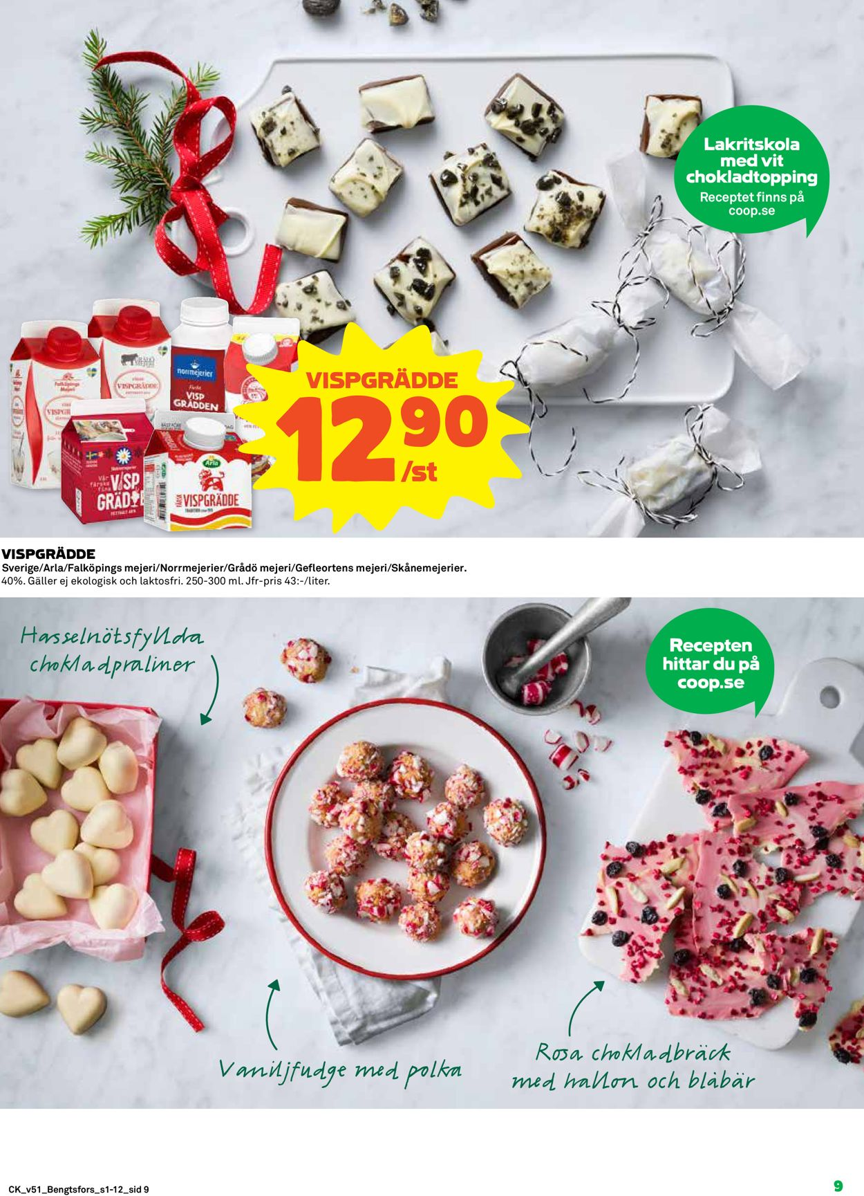 Aktuell annons Coop Julen 2019 - Reklamblad - 16/12-25/12-2019 (Sida 9)