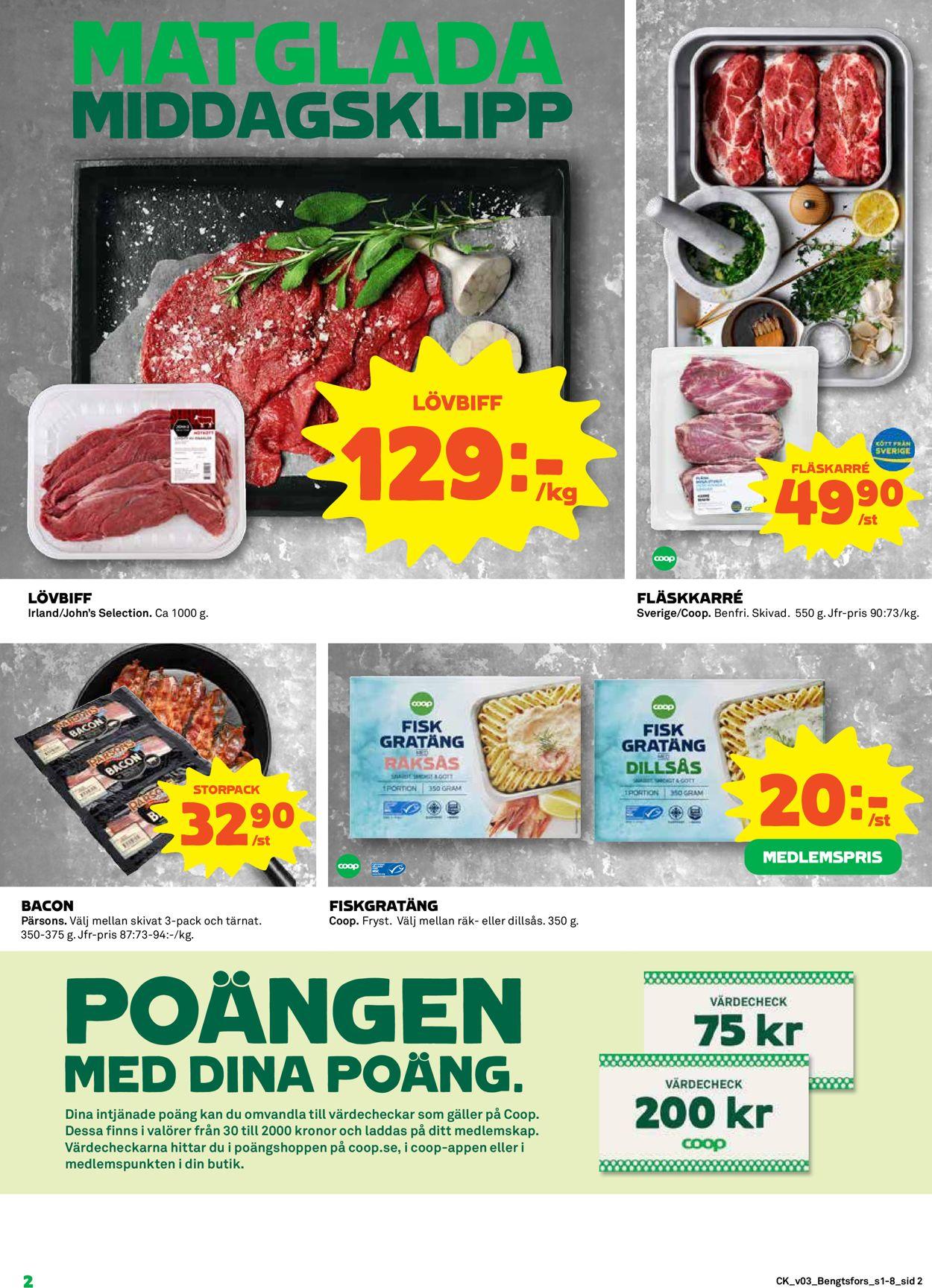 Coop - Stockholm - Reklamblad - 18/01-24/01-2021 (Sida 2)