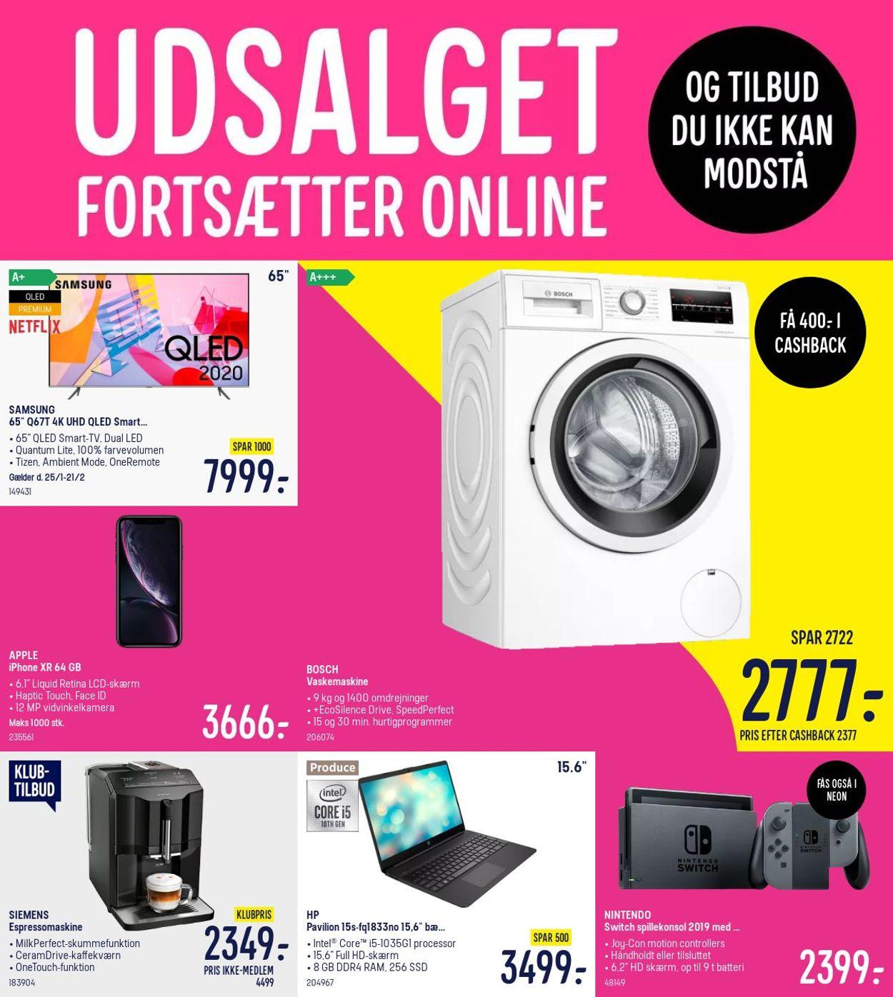 Elgiganten - Reklamblad - 25/01-31/01-2021
