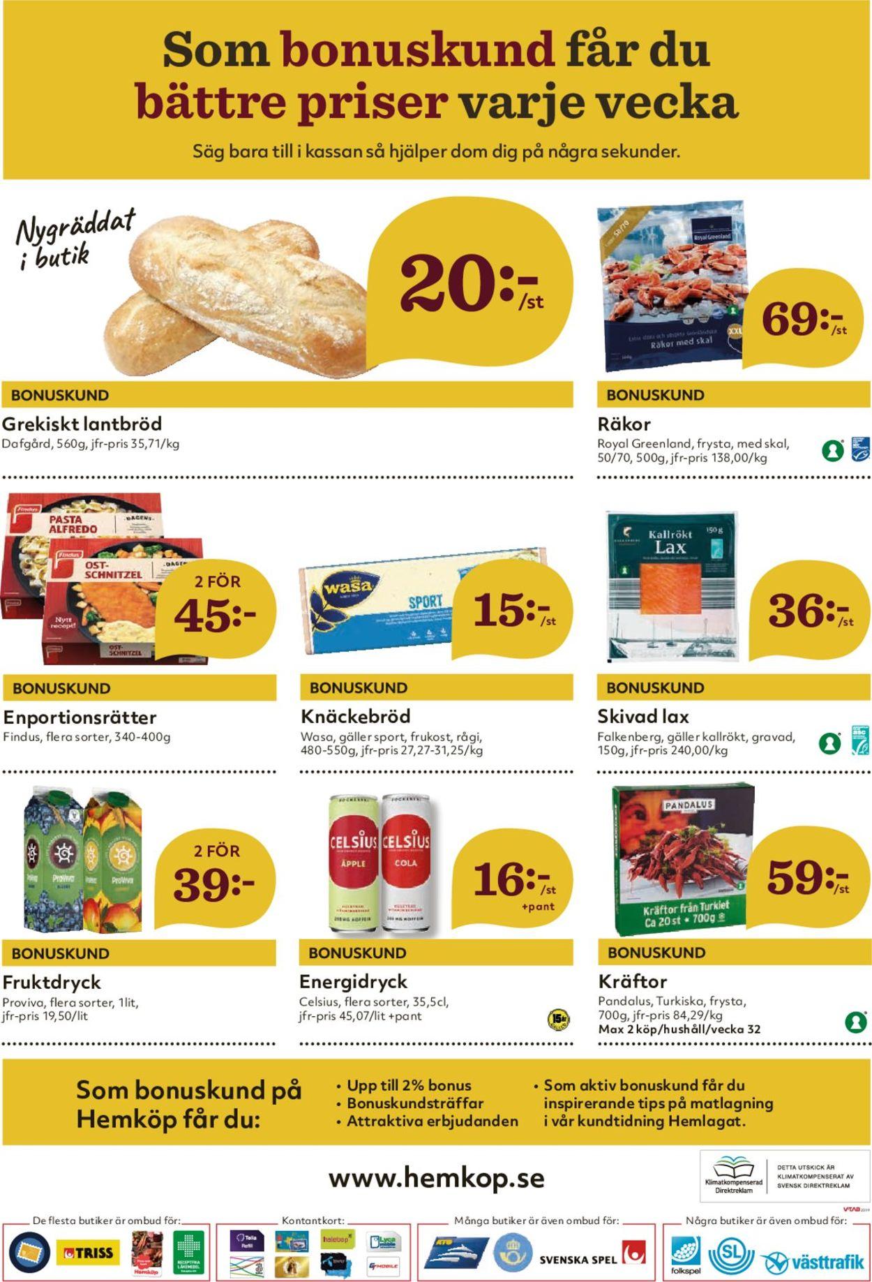 Hemköp - Reklamblad - 05/08-11/08-2019 (Sida 8)