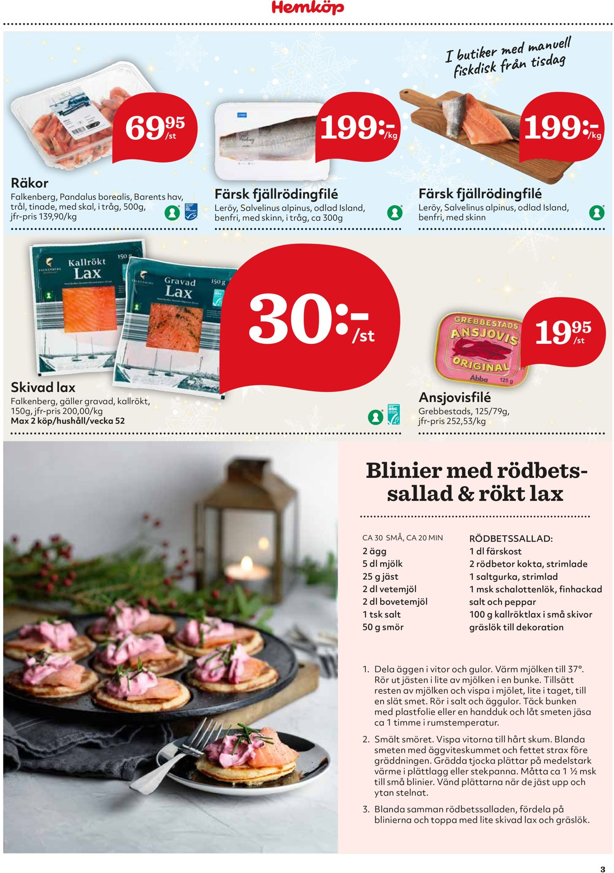 Hemköp - Julen 2020 - Reklamblad - 21/12-27/12-2020 (Sida 3)