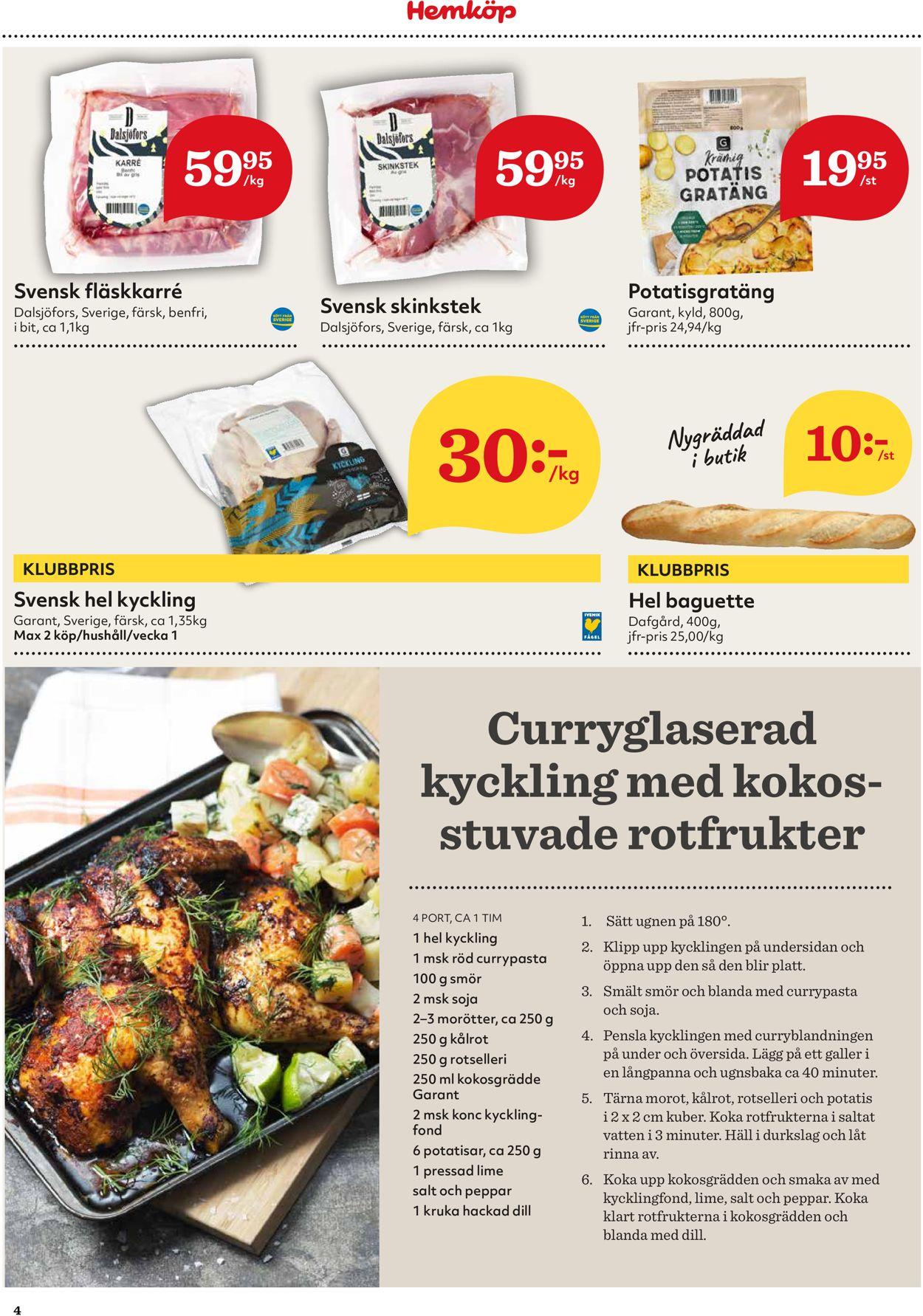 Hemköp - Reklamblad - 04/01-10/01-2021 (Sida 4)