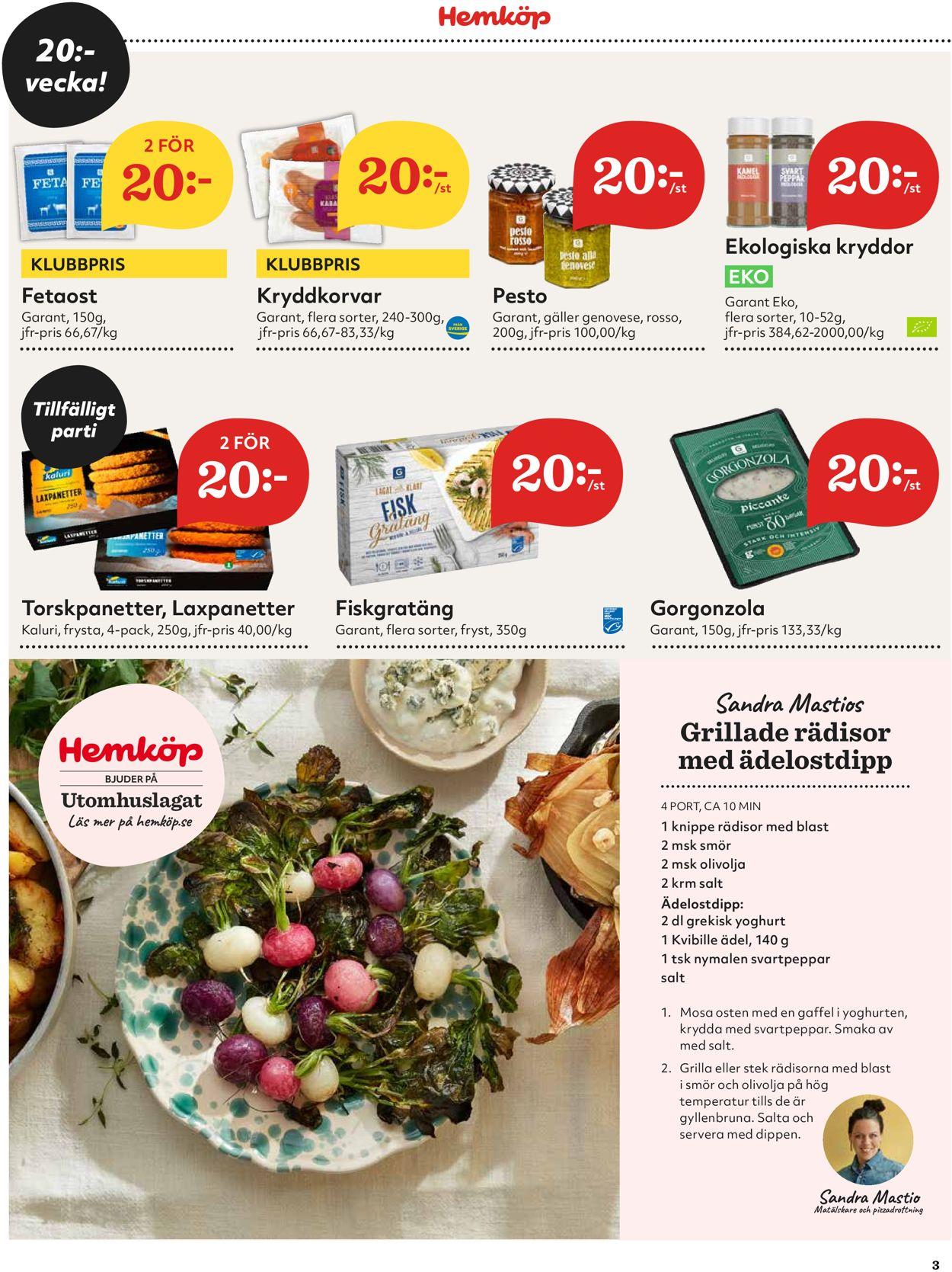 Hemköp - Reklamblad - 12/04-18/04-2021 (Sida 3)
