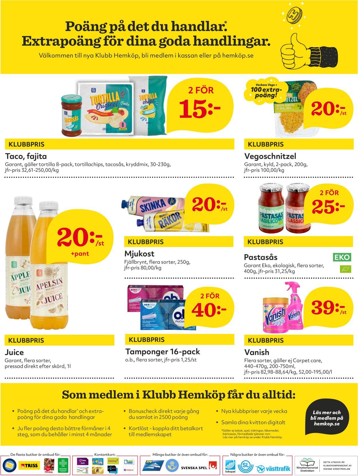 Hemköp - Reklamblad - 05/07-11/07-2021 (Sida 8)
