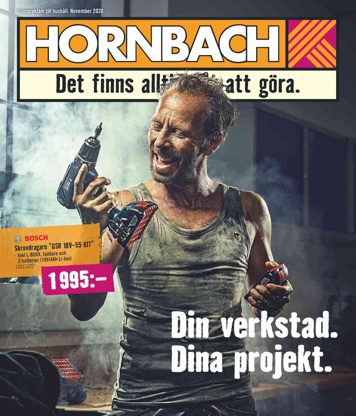 Hornbach - Reklamblad - 01/11-30/11-2020