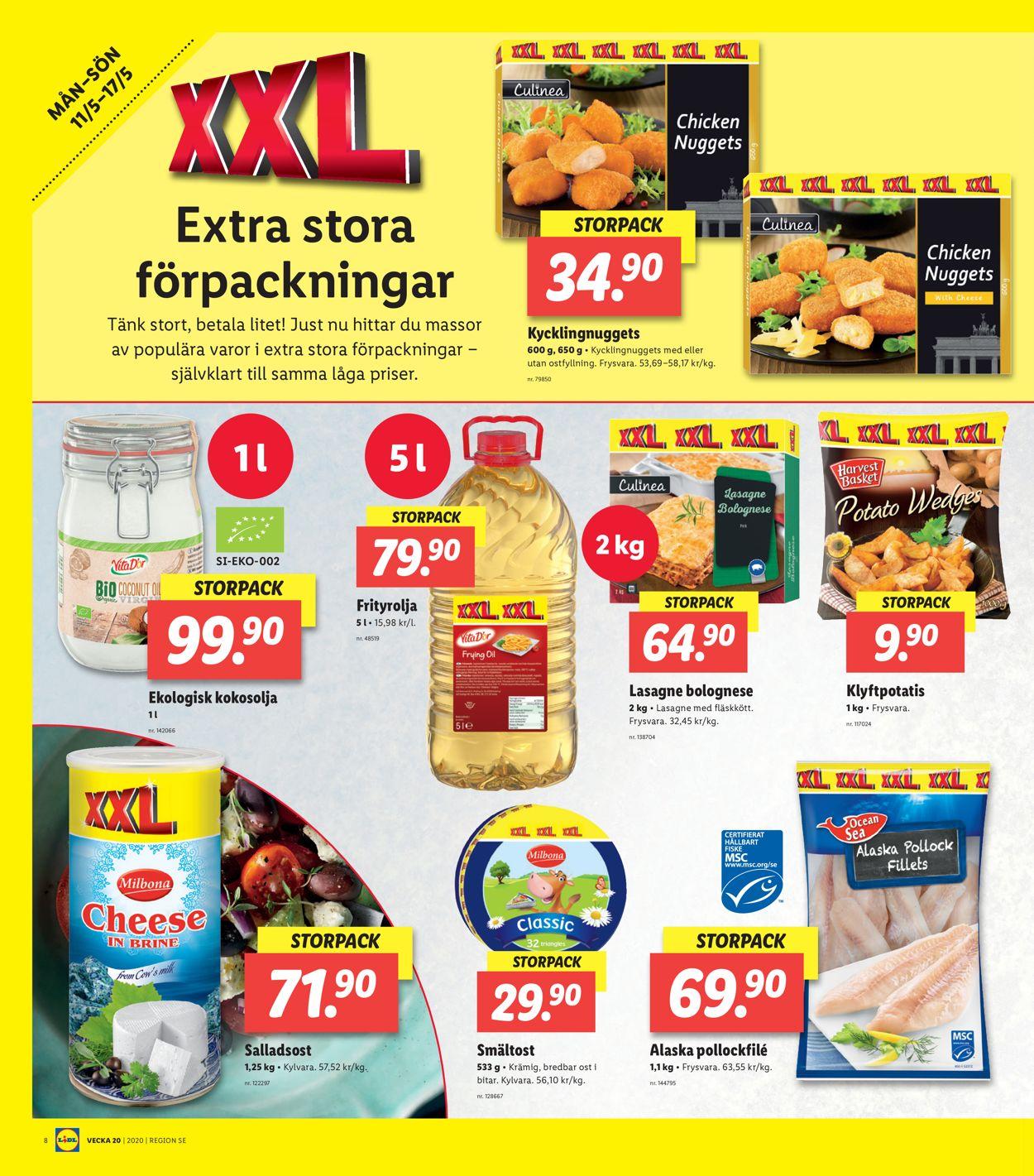 Lidl - Reklamblad - 11/05-17/05-2020 (Sida 8)